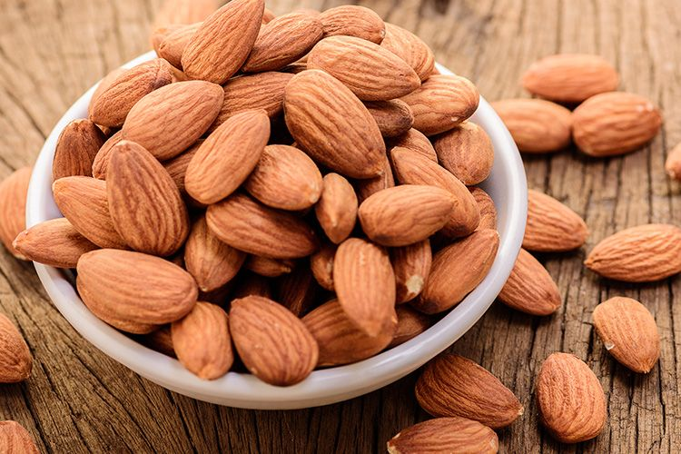 almonds increase metabolism