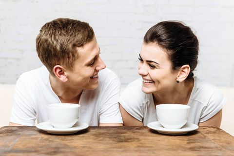 have coffee with your wife