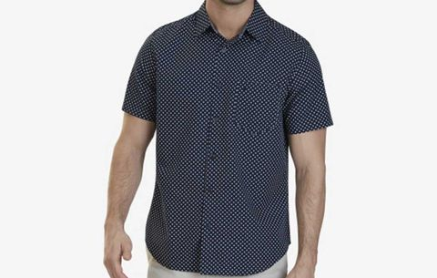 Short-Sleeve Print Shirt