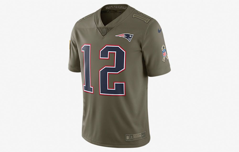 nfl salute to the troops jersey