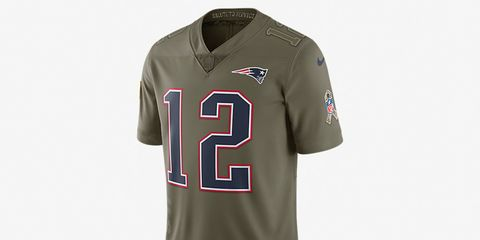 Nike jersey benefiting the troops