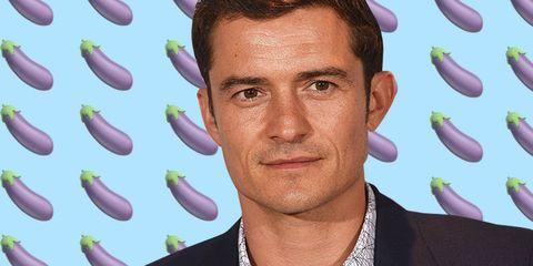 orlando bloom jokes viral penis photo