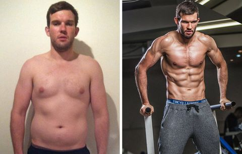 how this man carved a killer sixpack and became an