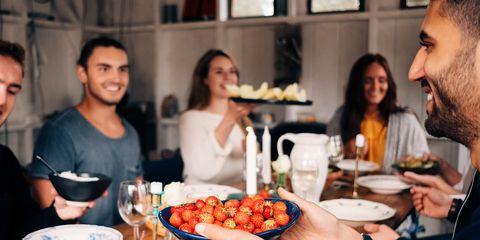 eating berries make you happy