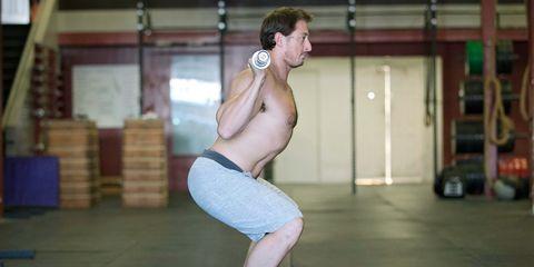 lower back squats