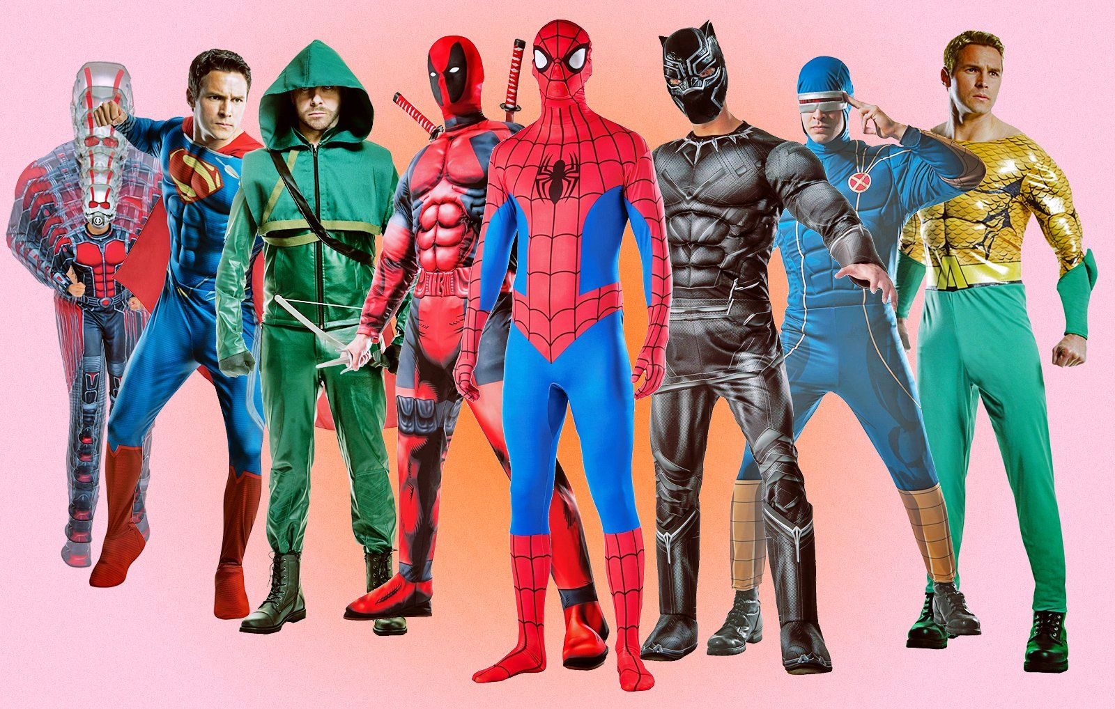 superhero halloween costumes  sc 1 st  Menu0027s Health & Halloween Costumes: 24 Superhero Costume Ideas | Menu0027s Health