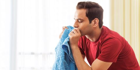 Feeling Stressed? Take a Whiff of Your Girlfriend's Dirty Laundry (Yes, Seriously)