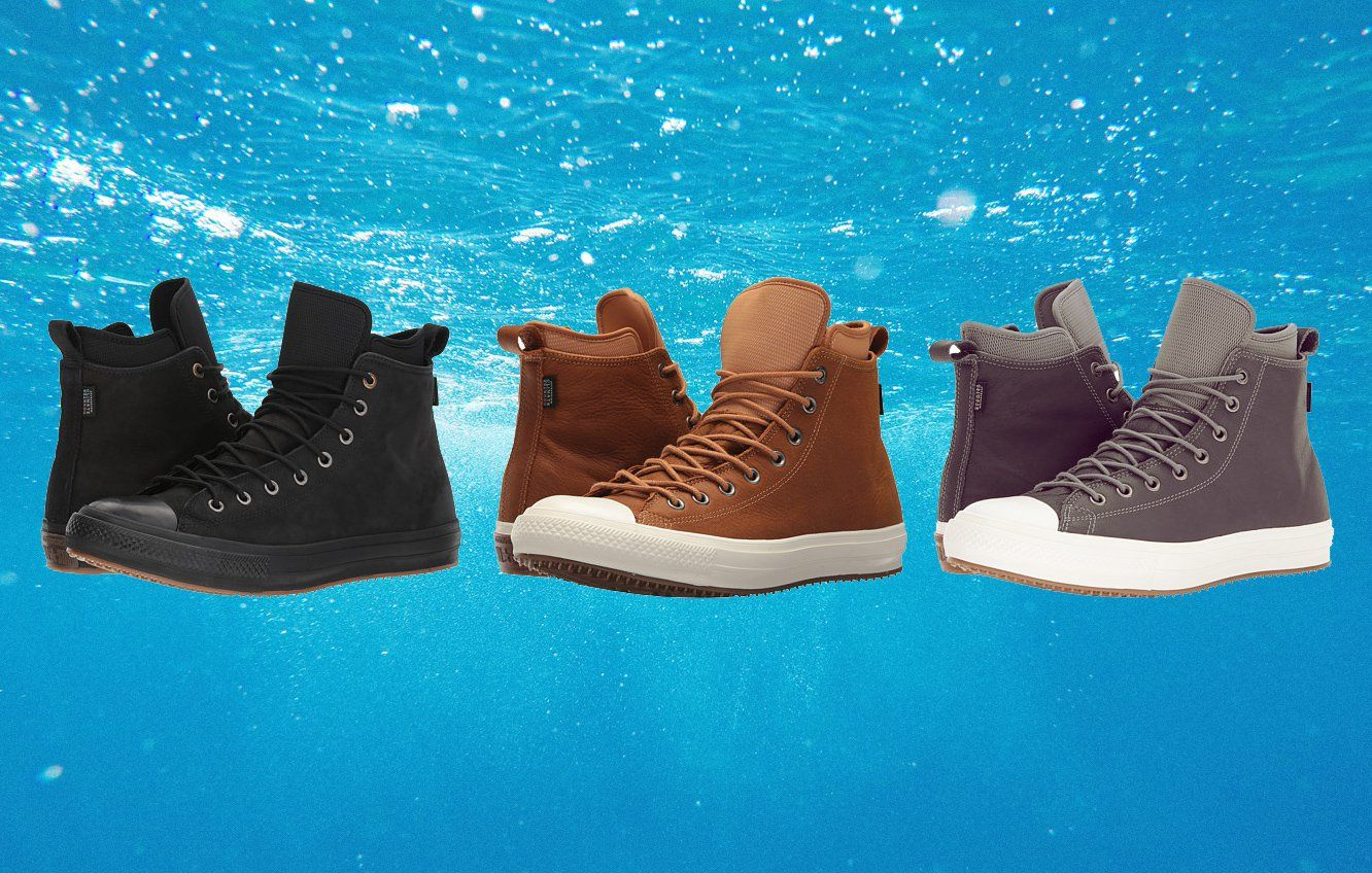 These Waterproof Converse Will Save Your Feet All Winter