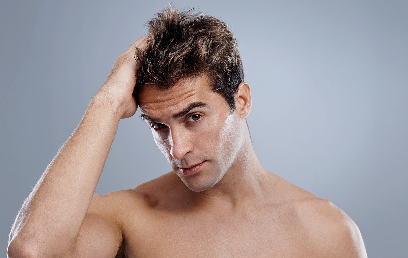 How To Apply Your Hair Product Men S Health
