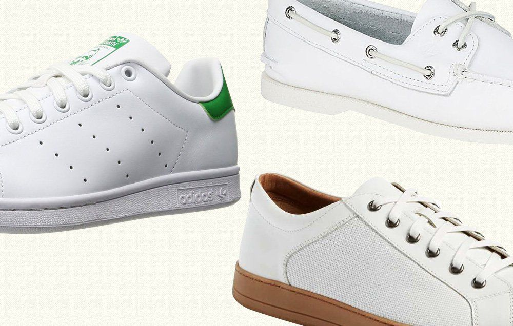 16 White Sneakers for Men to Sport All Summer Long