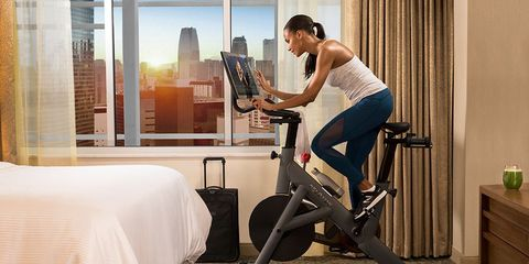 Peloton and Westin Are Teaming Up to Help America's Traveling Fitness Fanatics