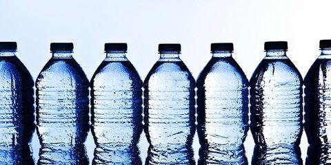bottled water instead of soda