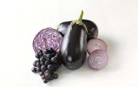 purple and blue foods