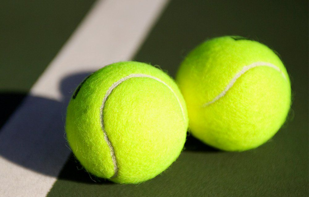 Tennis ball masturbation