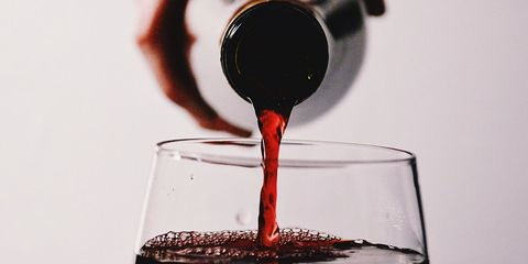 red wine memory