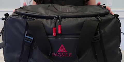 self cleaning gym bag