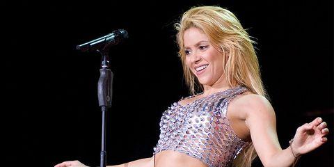 Shakira Abs Workout