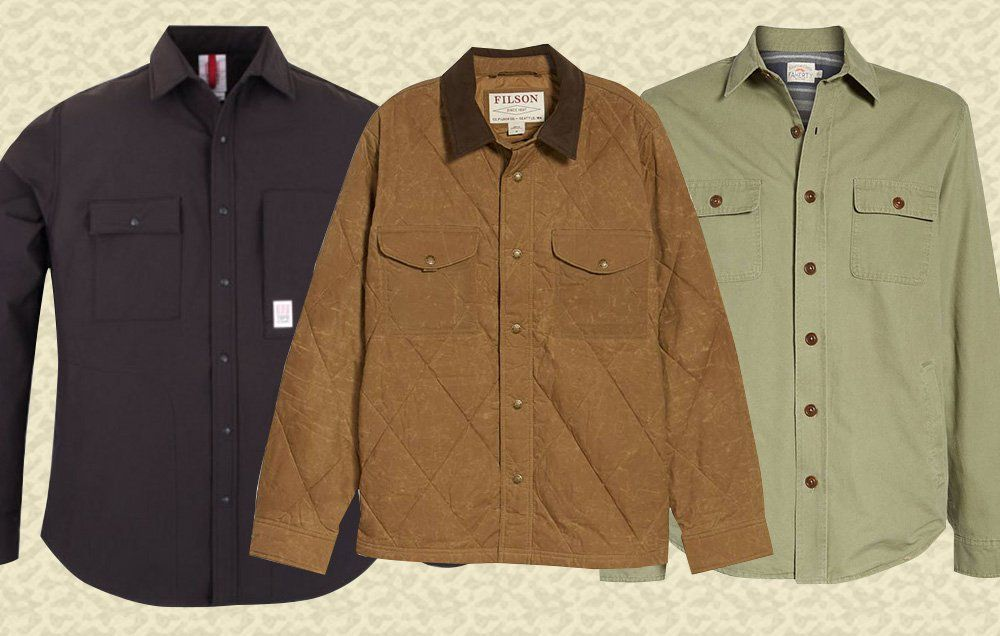 d28a909c53 10 Stylish Shirt Jackets You ll Want to Wear All Winter
