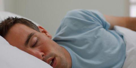 signs stop breathing when sleeping