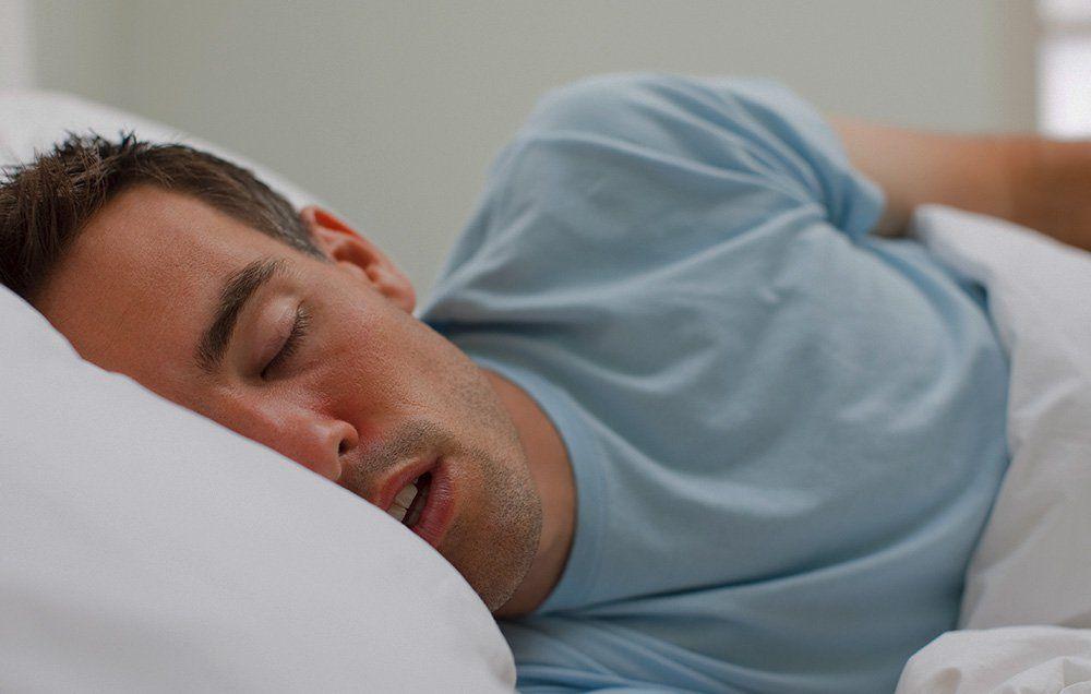 Adult apnea sleep