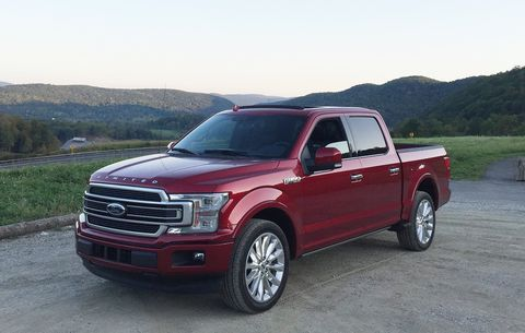 Ford F150 Rims >> 2018 Ford F-150 Limited Review | Men's Health