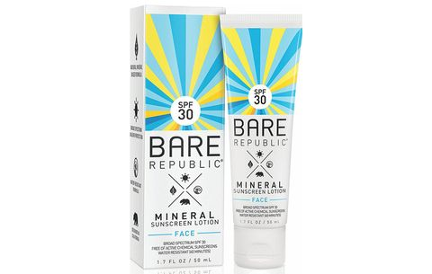best mineral sunscreen bare republic