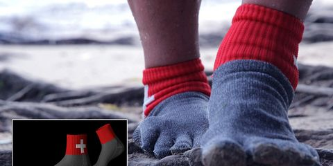 socks made of steel