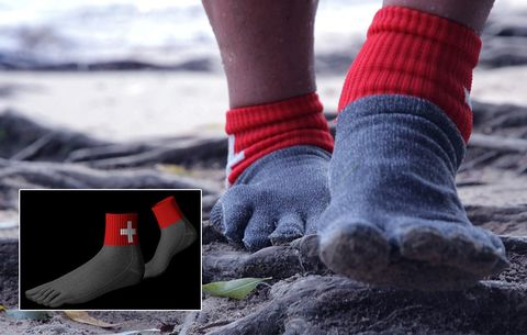 Who Needs Shoes? These Socks Are 15 Times Stronger Than Steel
