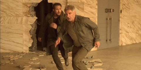 blde runner 2049 actors staying in shape