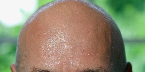 sweat used in medical test