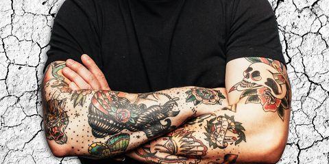 tattoo sweat less