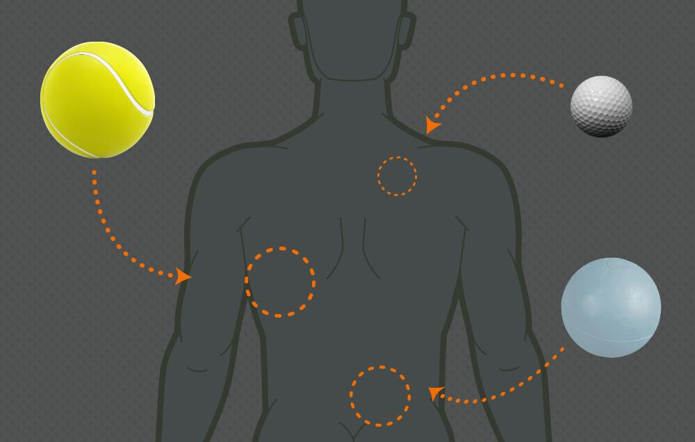 4 Ways a Tennis Ball Can Ease Your Back Pain | Men's Health