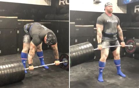 Watch 'The Mountain' Casually Deadlift 970 Freaking Pounds