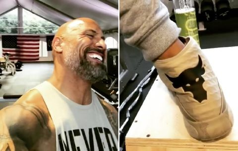 The Rock Reveals That He Pees in a Damn Water Bottle at the
