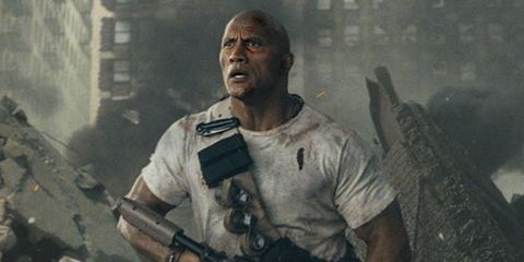 The Rock, Rampage Release