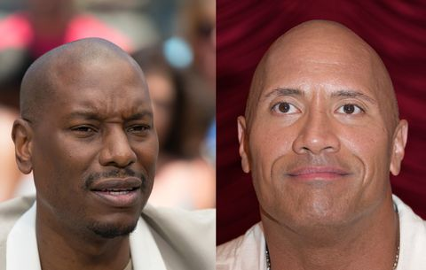 There's a 'Fast & Furious' Feud Brewing Between the Rock and Tyrese