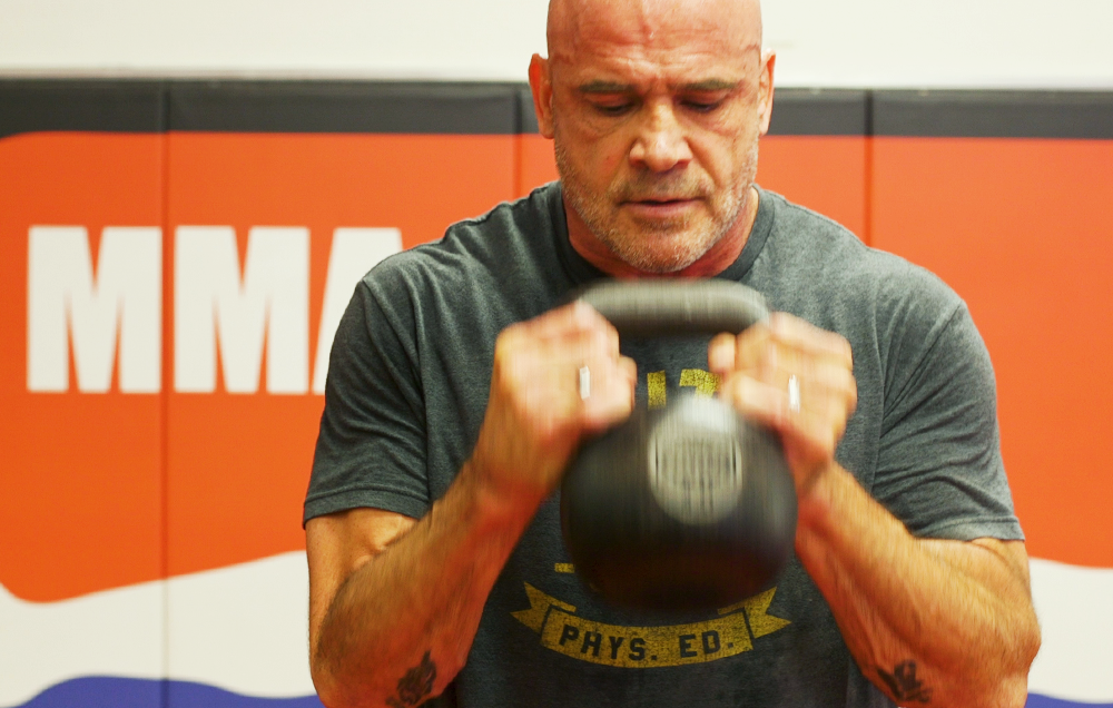 Bas Rutten's 12-Move MMA Workout Will Leave You Drenched
