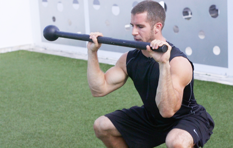how to exercise with a mace