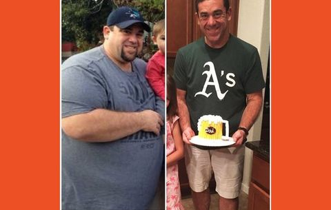 How This Man Lost 213 Pounds Without Ever Stepping Foot Into a Gym