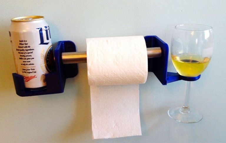 This Device Makes It Easier to Drink Beer On the Toilet | Men\'s Health