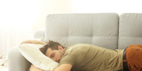 sleep too much