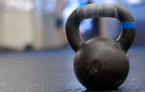 Kettlebell Double-Shot Workout