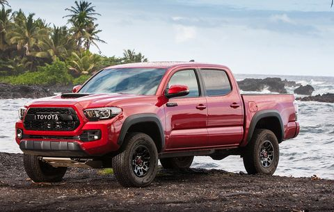 2017 Toyota Tacoma Trd Pro First Drive And Review Men S Health
