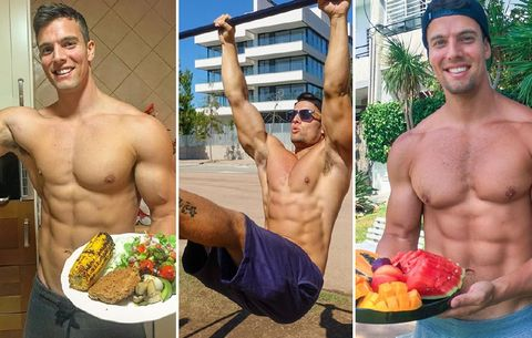 bodybuilding diet to lose weight on real food