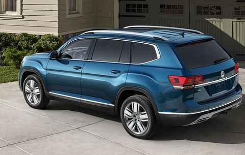 2018 VW Atlas R-Line: Styling, Interior, Arrival >> 2018 Volkswagen Atlas Test Drive And Review Men S Health