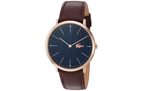 Lacoste Quartz and Leather Watch