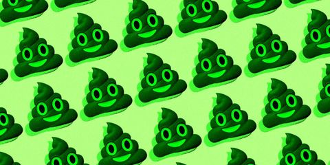 what does it mean when your poop is green