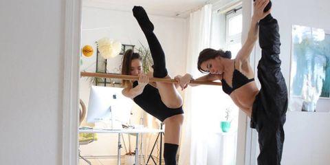 Alina and Emilija Wellbrock