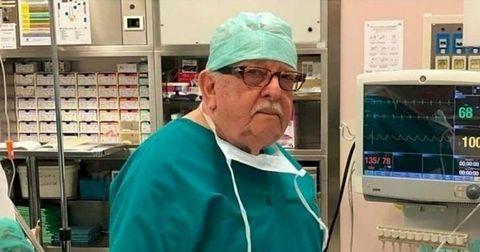 新冠肺炎10大暖心時刻!85歲義大利醫生Giampiero Giron重返戰場
