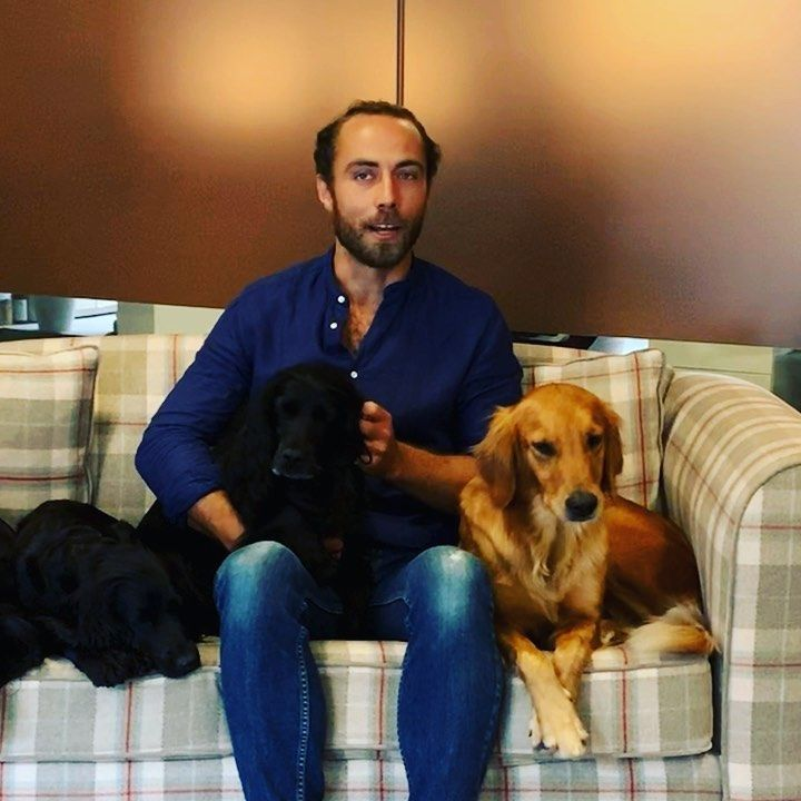 Kate Middleton's Brother James Partners with the Kennel Club U.K. to Recognize Good Dogs